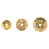 Sequins Round 6/8/10mm Hologram Gold